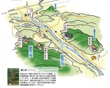 湖南の仏像を訪ねてマップ