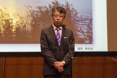 岡田学長から開会の挨拶