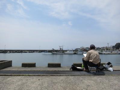 淡海の夢・堅田写生会の風景(2013)