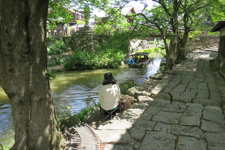 【お知らせ】淡海の夢「近江八幡・八幡掘と城下町写生会」(9/22)実施について