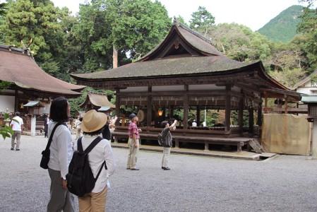 御上神社 拝殿と本殿を拝観