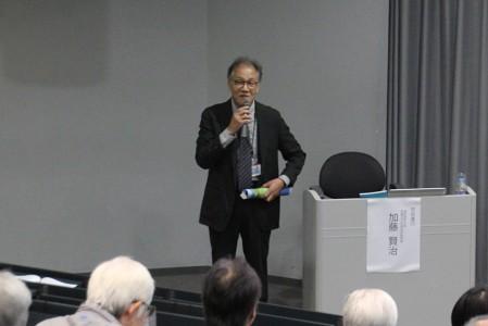 西久松吉雄 近江学研究所所長よりごあいさつ
