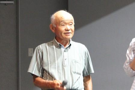 8ミリフィルムを撮影した小林さんに、フィルムを見ながら解説いただいた。