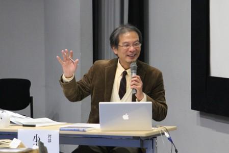 小嵜善通 研究員(本学教授)