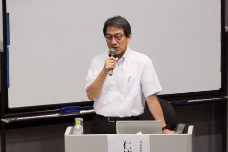 仁連 孝昭 氏(成安造形大学客員教授)