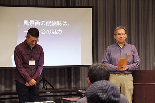 左:待井先生 右:永江先生