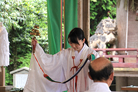 奉告祭 鈴祓い