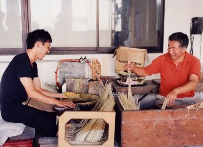 (左)大西巧氏、(右)大西明弘氏 (写真提供:大與)