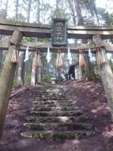 滝壷神社には、「闇龗神」(クラオカミノカミ)という龍神が奉られている。