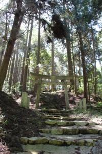 闇龗神(クラオカミノカミ)が祀られる滝壺神社。