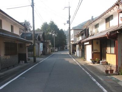 丹波須知の旧街道