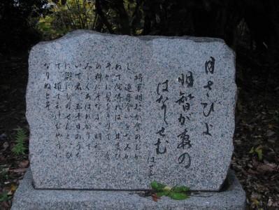 称念寺芭蕉句碑