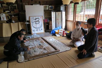 山陽新聞の取材も行われました。