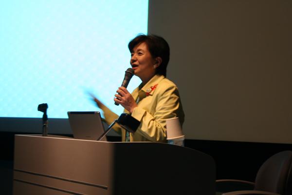 第9回 滋賀県知事 嘉田由紀子「里山と水の文化」10月20日 本部棟3階ホール