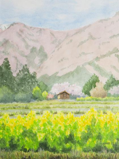 クサカベ賞 浦部 秀子『春の山』