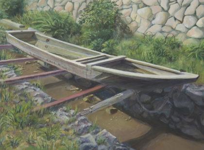 森山 遥香「日向の古舟」 ホルベイン賞