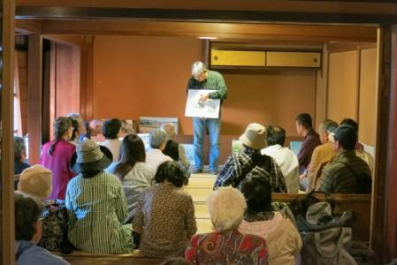 築約150年の近江商人町家「奥村邸」での講評会
