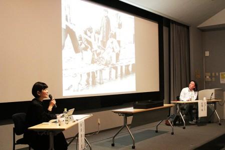 石川亮研究員との対談をしながら、お話しをお聞きしました