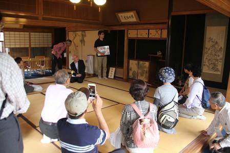 岡井先生による日野商人のレクチャーを受けました
