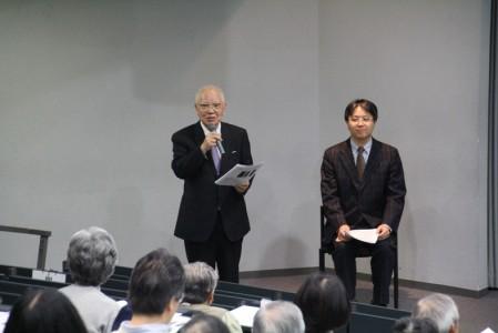 新進気鋭の研究者である寺島先生を紹介する木村所長