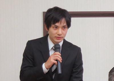 美術領域日本画コース研究生 梶浦隼矢さん