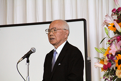 開会のごあいさつ 木村至宏 (近江学研究所 顧問)