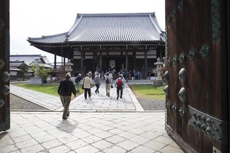 午後からは、近江八幡 本願寺八幡別院へ。