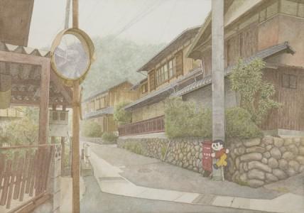 堀田杏奈さん『懐郷』(絵画)