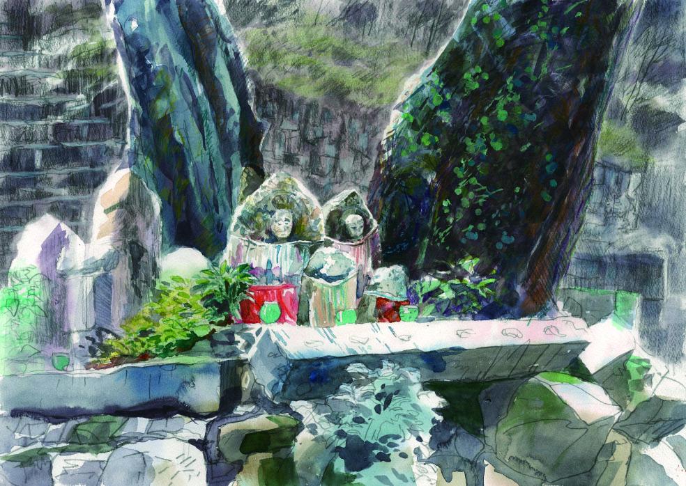 早尾神社前のお地蔵さま